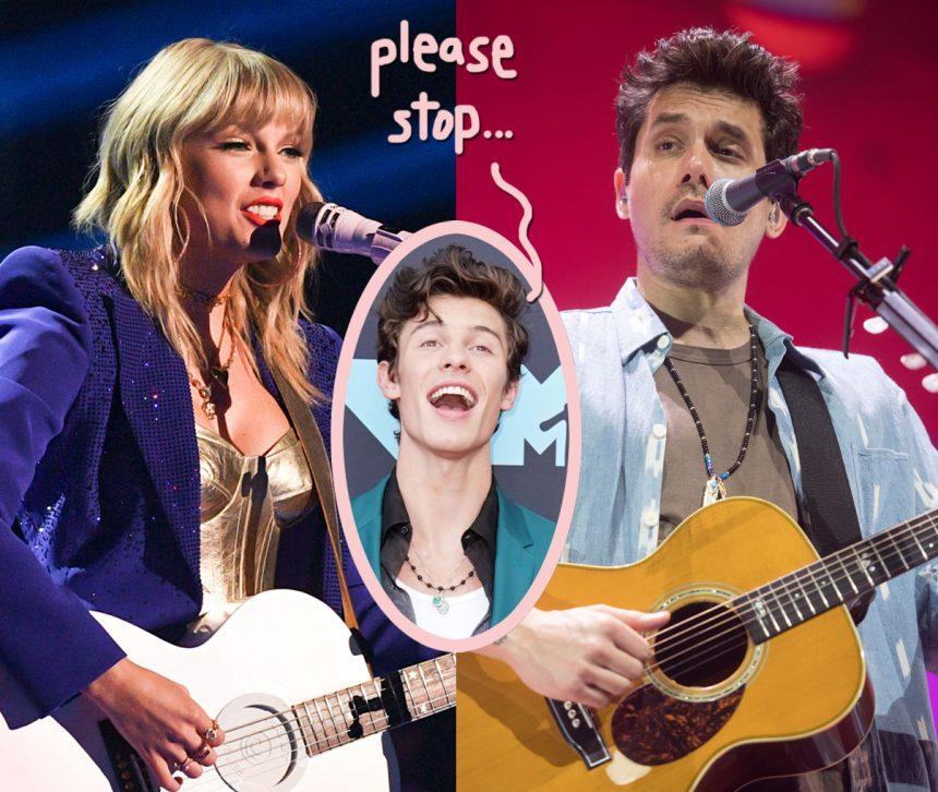 John Mayer SHADES Ex Taylor Swift's Song About Her Current Boyfriend! - PerezHilton.com