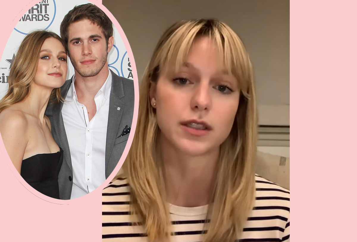 Supergirl Star Melissa Benoist Reveals Domestic Violence In Powerful Video And Fans Are Sure She S Talking About Blake Jenner Perez Hilton