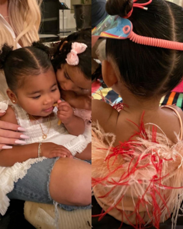 The KarJenner Family Celebrates Dream Kardashian's Third Birthday!_3