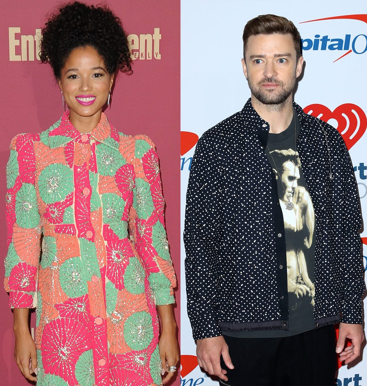 Justin Timberlake Caught Red Handed Getting Cozy With Co Star