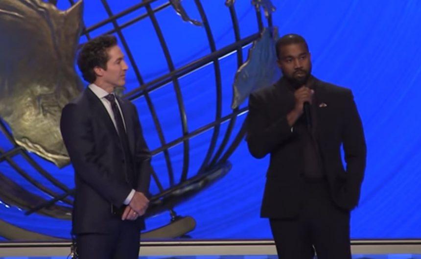 Kanye West Joel Osteen
