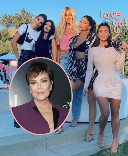 Caitlyn Jenner Comes Out With Surprising Birthday Tribute For Ex Kris Jenner! - Perez Hilton