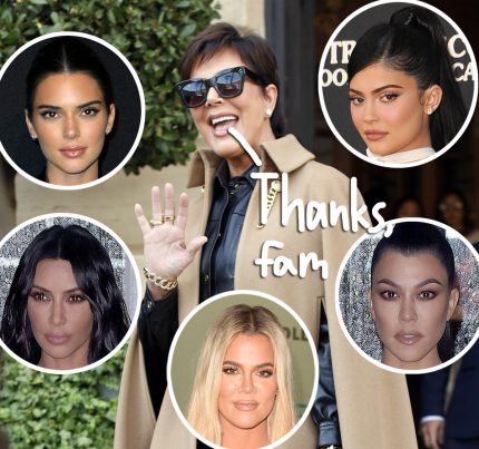 Kim Kardashian's Nostalgic Birthday Surprise For Kris Jenner Will Move You To Tears - Perez Hilton