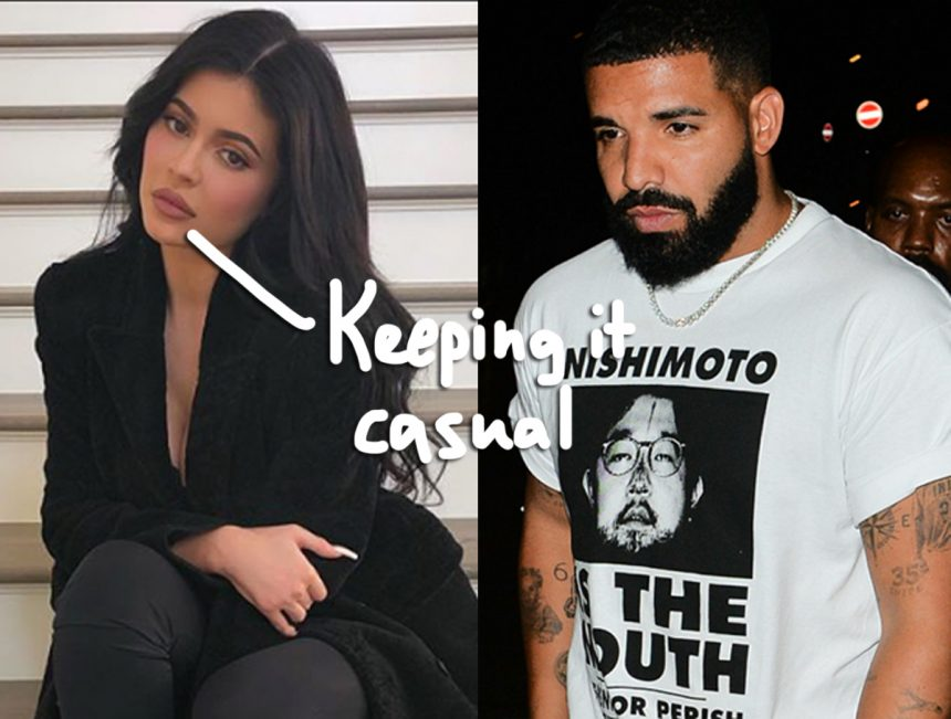Kylie Jenner Drake Official Yet Or Nah Perez Hilton