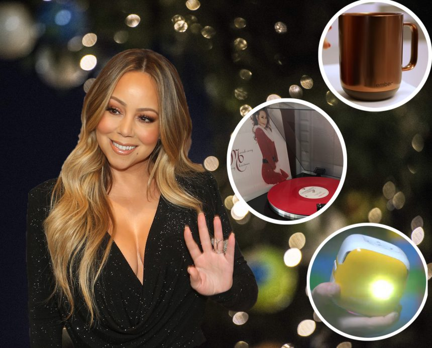 Move Over, Oprah! Queen Of Christmas Mariah Carey Shares Her List Of Festive Holiday Must-Haves