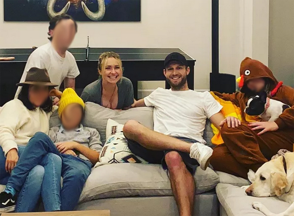 Hayden Panettiere Brian Hickerson Thanksgiving Instagram