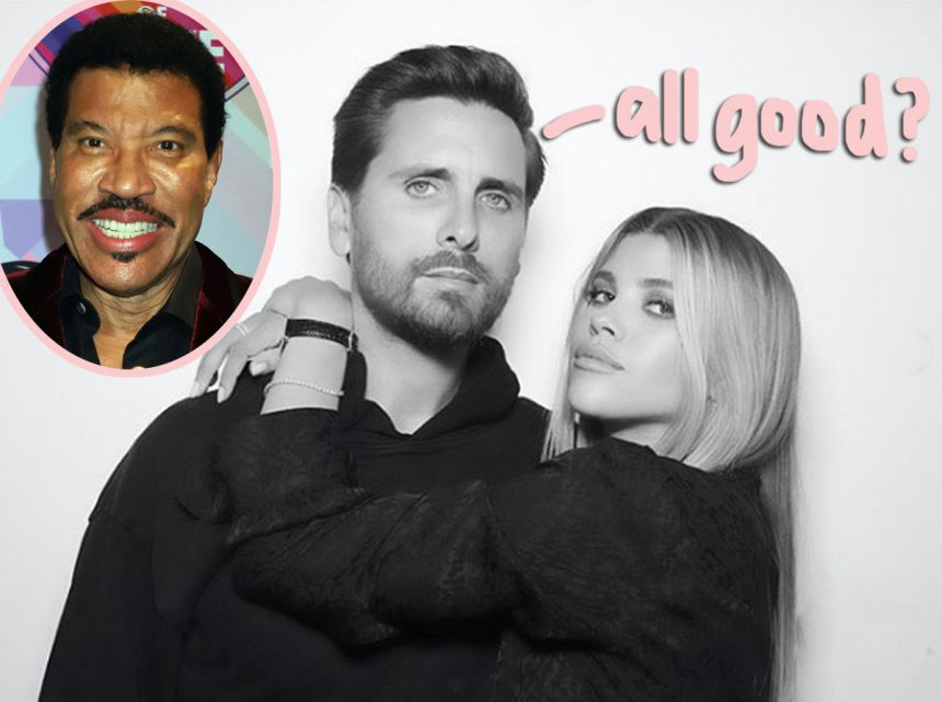Lionel Richie Is 'Making More Of An Effort' With Scott ...