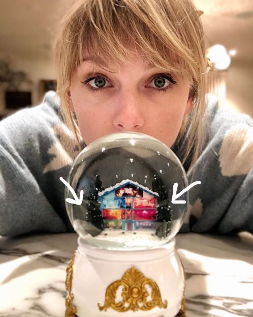 Taylor Swift Welcomes You To Her 'Christmas Tree Farm ...
