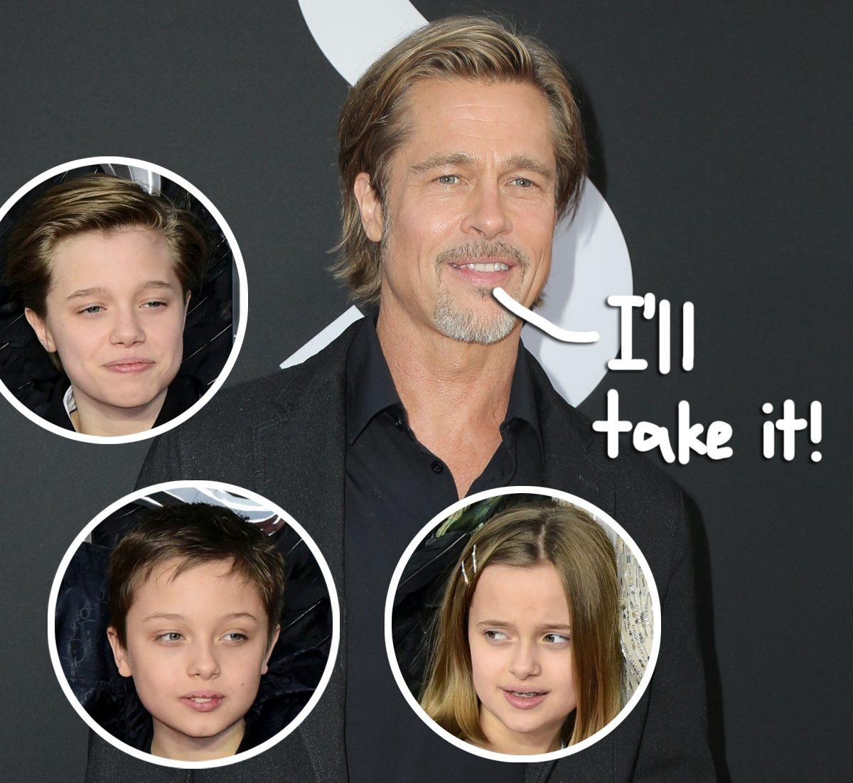 Brad Pitt Spending Christmas Eve With 3 Of His Kids, Other 3 Are 'Not Expected To Attend'!