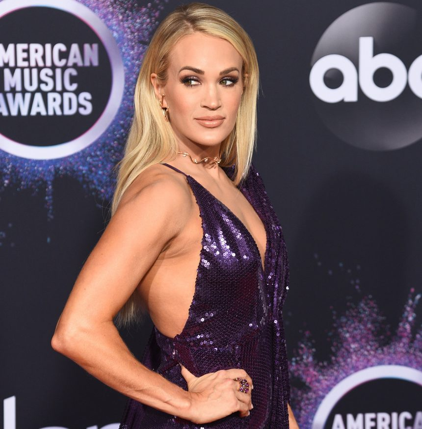 Carrie Underwood fitness tips