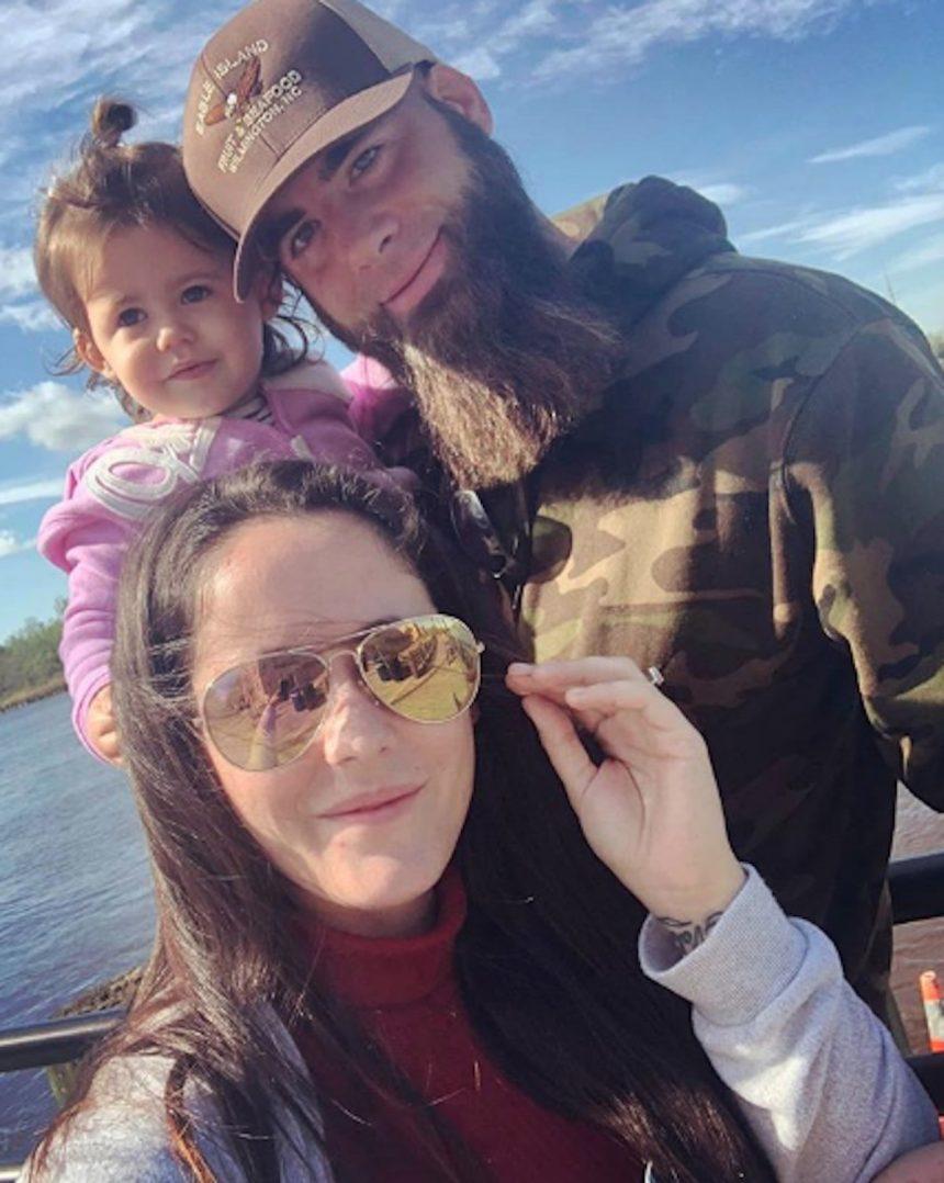 Amy Walker Naked jenelle evans & david eason spotted co-parenting in