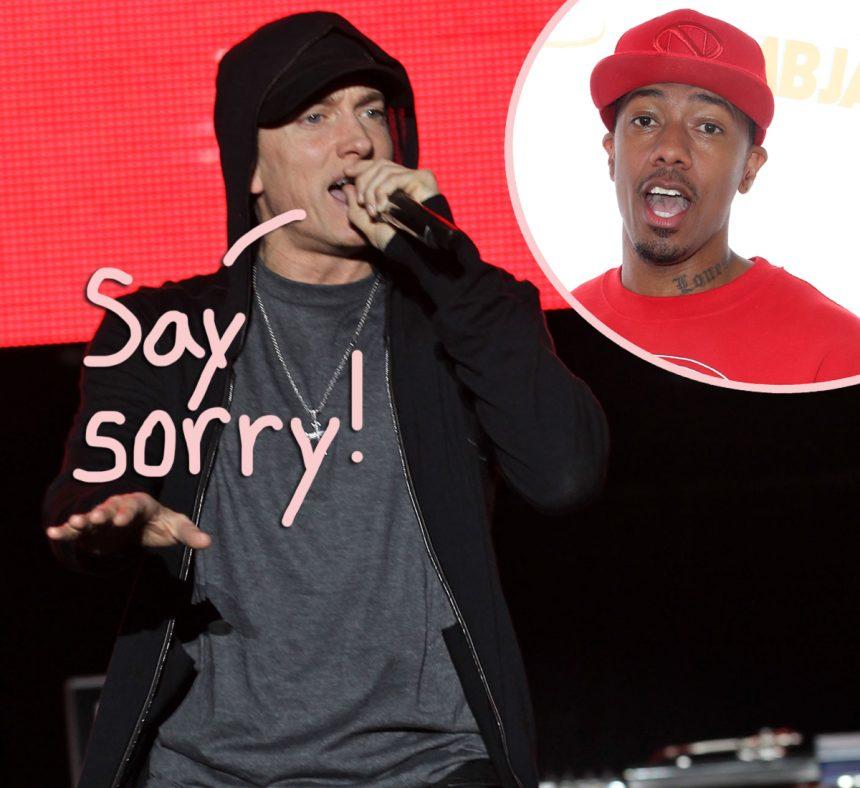 Image Result For Nick Cannon Eminem Beef
