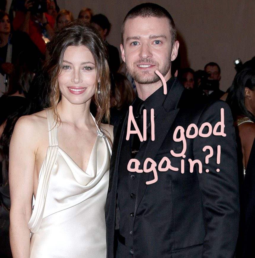 Justin Timberlake Spotted Wearing Wedding Ring In First