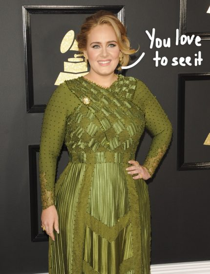 The REAL Reason Adele Lost All The Weight! - Perez Hilton