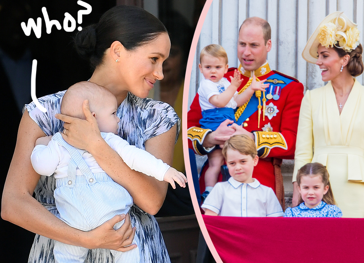 prince harry meghan markle s son archie has only met his royal cousins twice report perez hilton prince harry meghan markle s son archie has only met his royal cousins twice report perez hilton