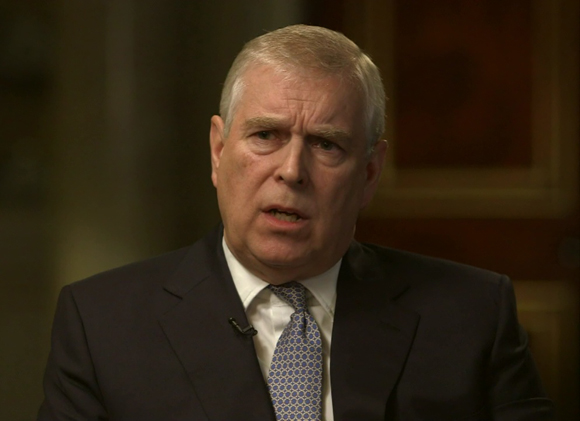 Prince Andrew stepped away royal duties