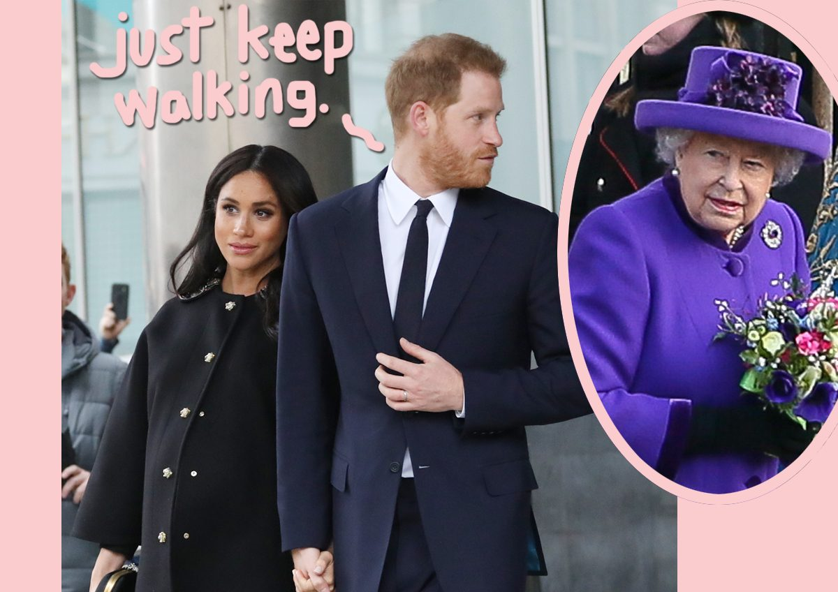 Prince Harry & Meghan Markle Have Been Keeping Exit Plan Secret For EIGHT MONTHS?!