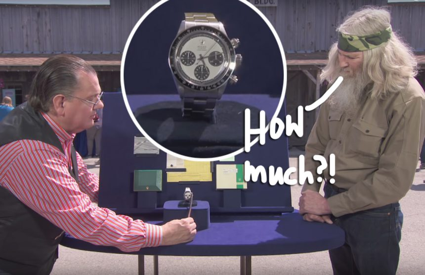 'Antiques Roadshow' Guest Literally Falls Over After ...