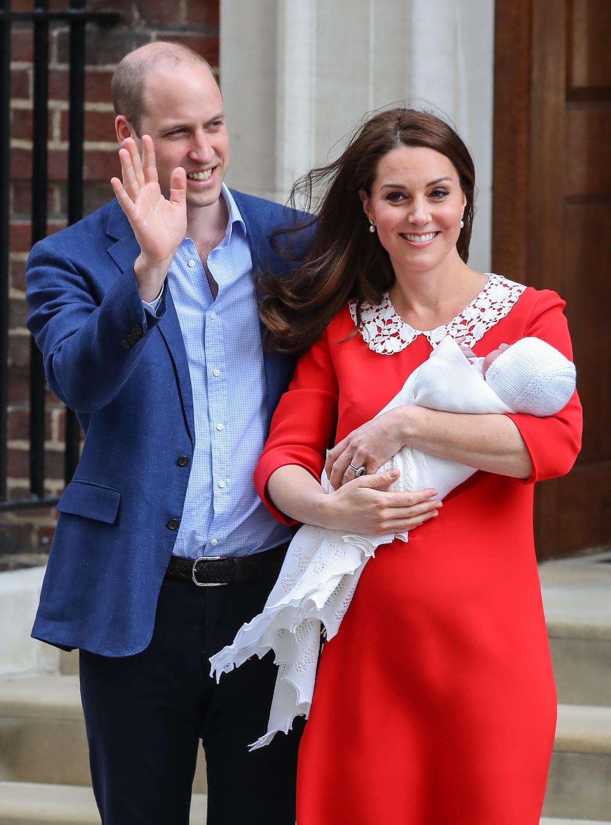kate middleton prince louis birth