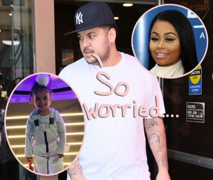 Blac Chyna Source Say Rob Kardashian Is 'A Bald-Faced Liar' About Bad Parenting Accusations! - Perez Hilton