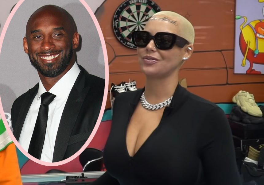 Amber Rose Face Tattoo: Amber Rose Reveals Kobe Bryant Tragedy Inspired Her Face