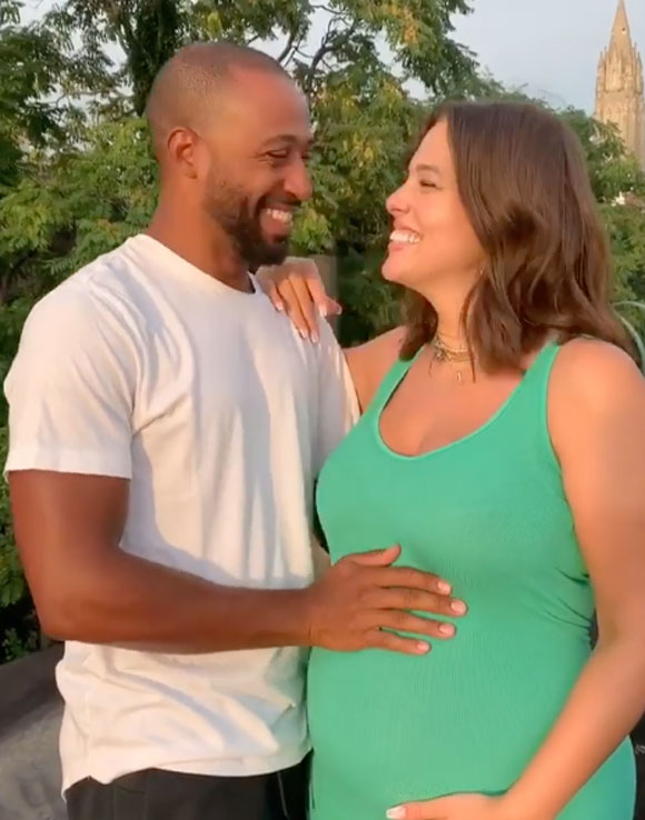 Ashley Graham & Husband Justin Ervin Reveal Their Newborn Son's Name!