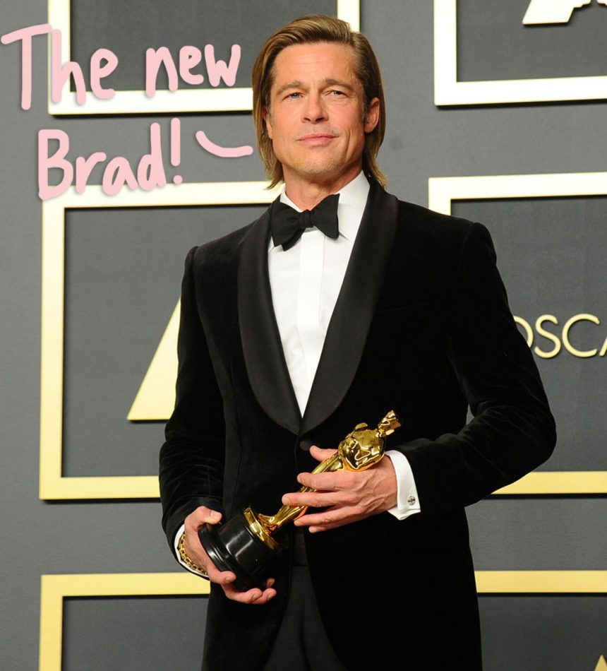 Brad Pitt Is A 'New Man' & Happier Than Ever Following Big Wins During Awards Season - Perez Hilton