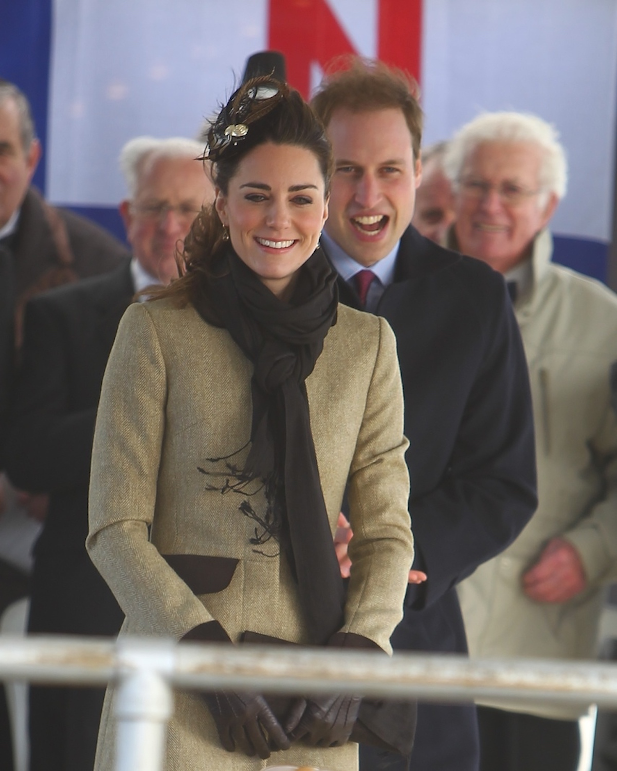 kate middleton first royal engagement as couple