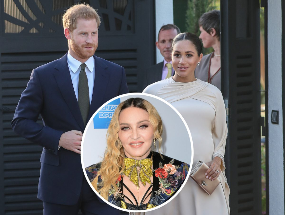 Madonna Encourages Prince Harry & Meghan Markle To Stay In Her NYC Apartment Over 'Boring' Ca