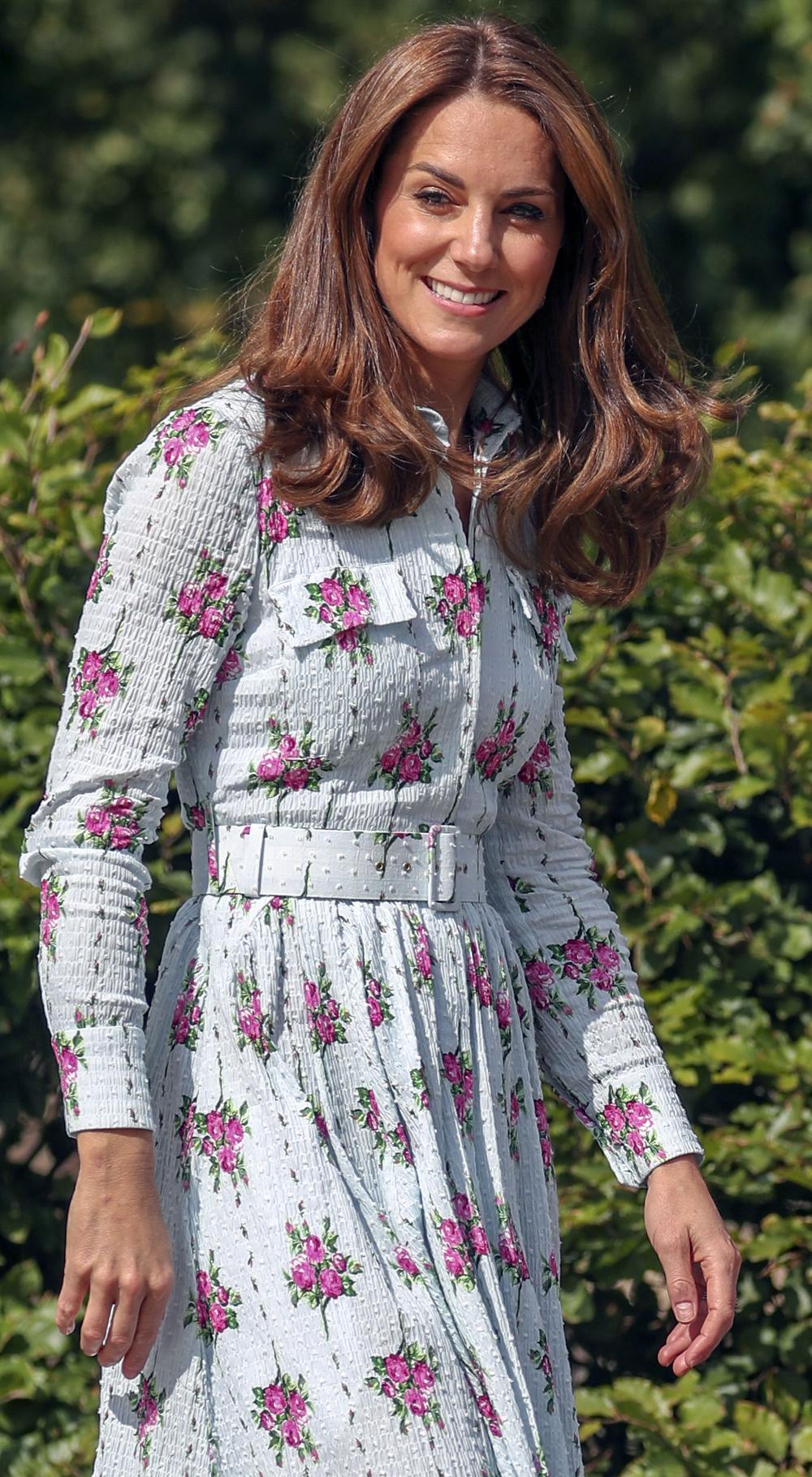 Kate Middleton floral dress