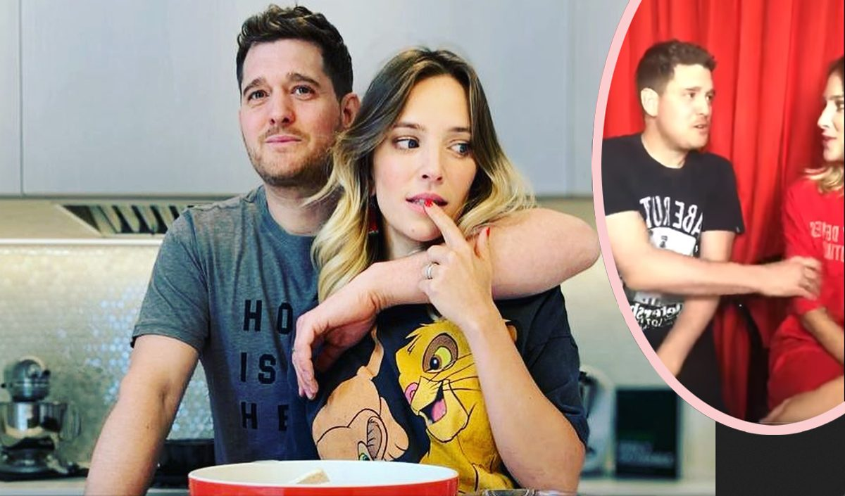 Abused Movies Porn Video fans think michael buble is abusing his wife - see how she