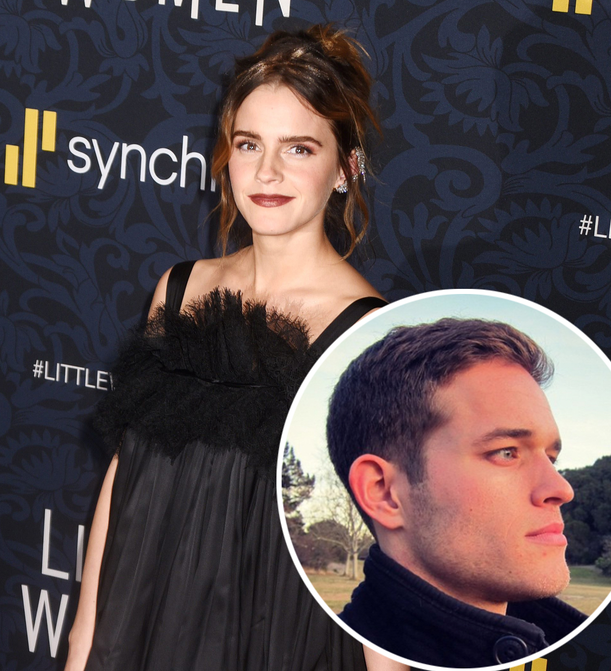 Emma Watson S Mystery Boyfriend Revealed It S Getting Really Serious Perez Hilton
