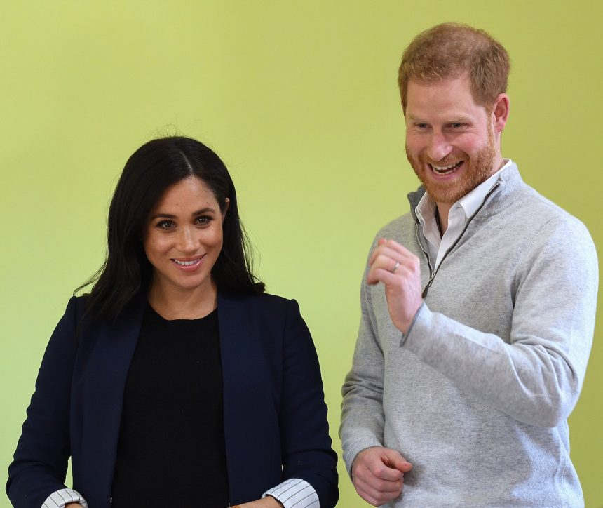 Meghan Markle & Prince Harry Are 'Adjusting' To Life In
