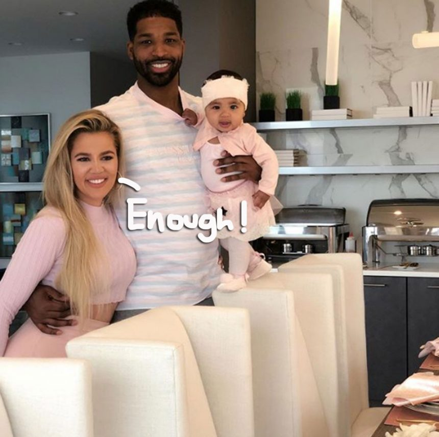 No, Khloe Kardashian is not pregnant with Tristan Thompson's baby