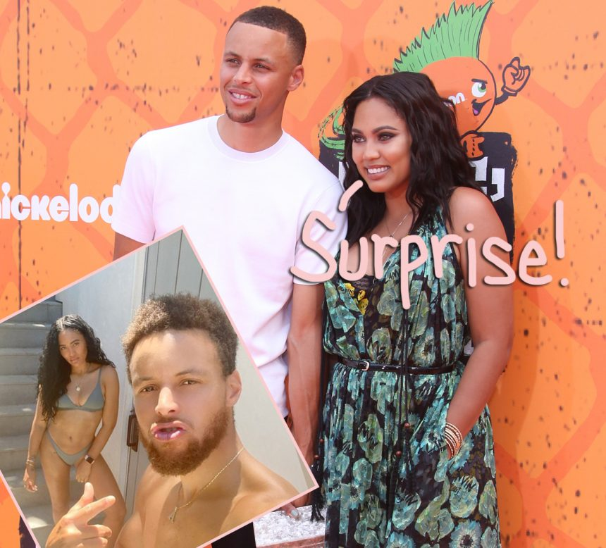 Ayesha Curry Shows Off Super Sexy Bikini Shots For The Gram But