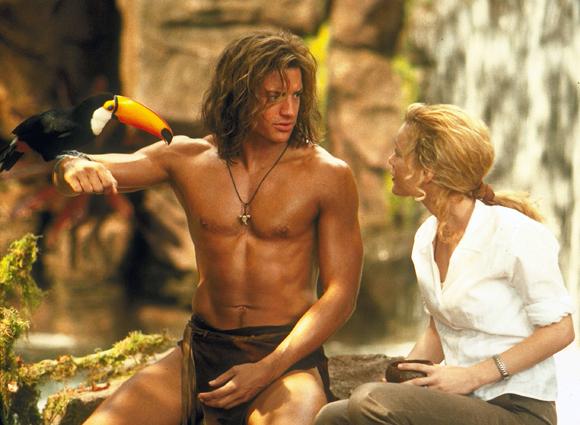 Brendan Fraser in George of the Jungle