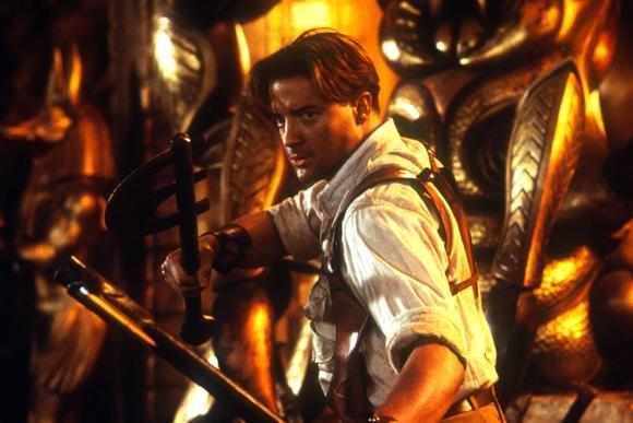 Brendan Fraser in The Mummy