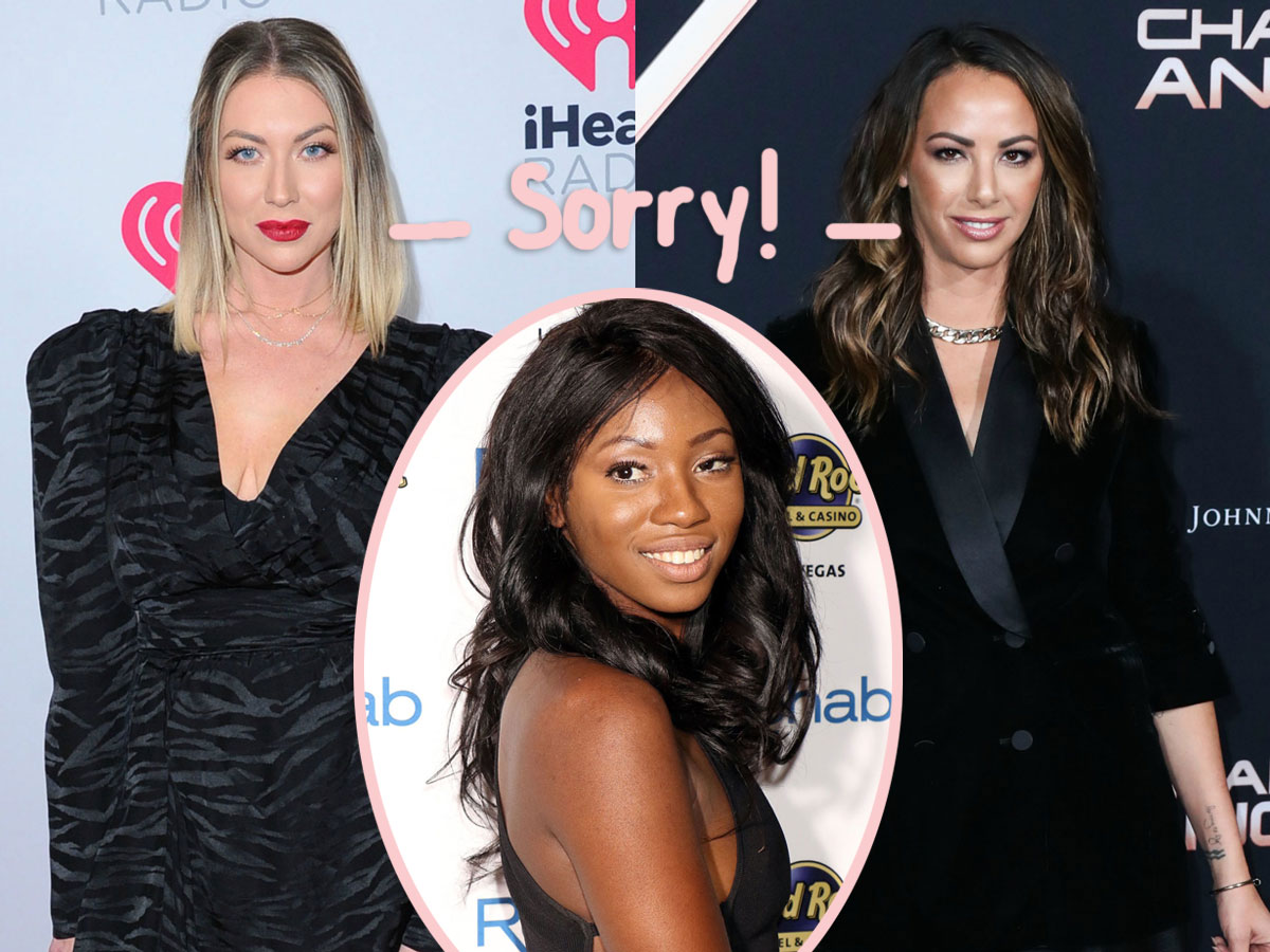 Stassi Schroeder and Kristen Doute apologize to Faith Stowers.