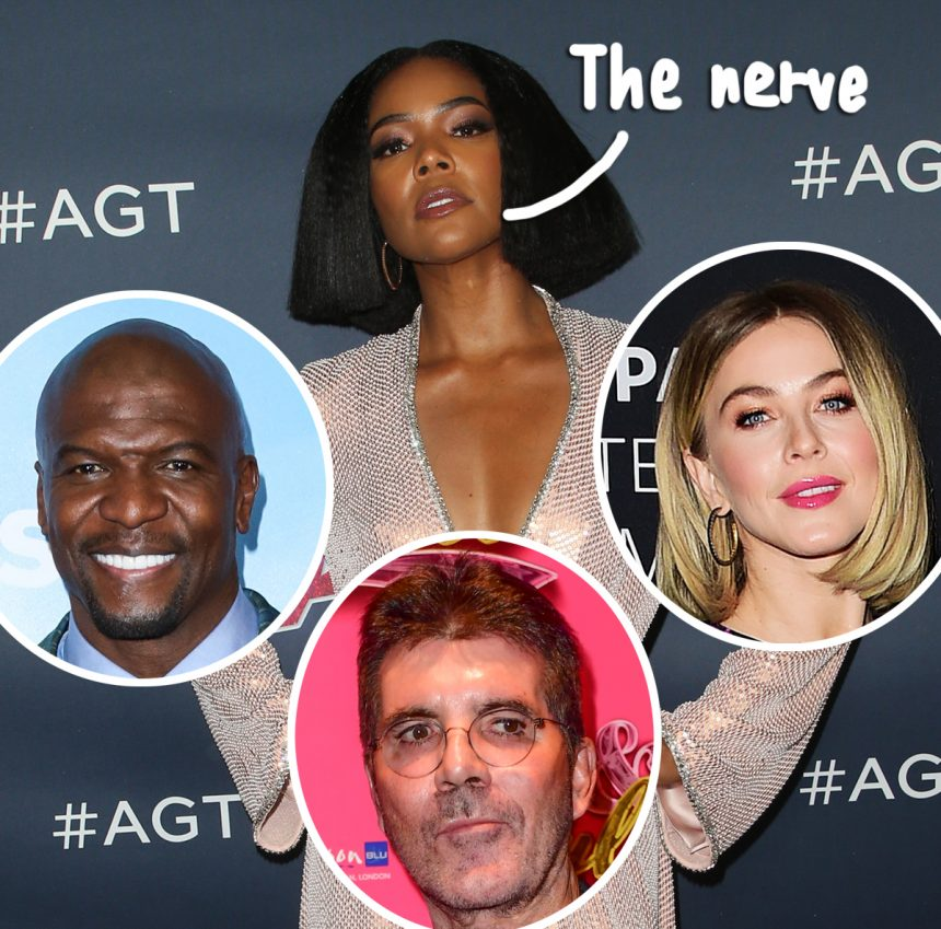 Gabrielle Union Calls Out Julianne Hough's Blackface Scandal In New Complaint Against AGT!