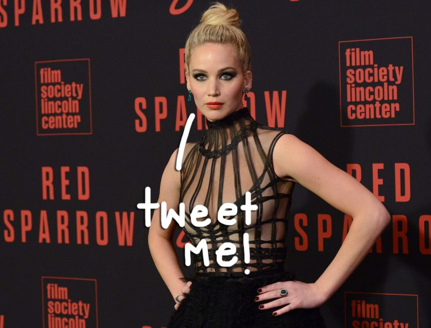 Jennifer Lawrence FINALLY Joins Twitter - Here's Why She ...