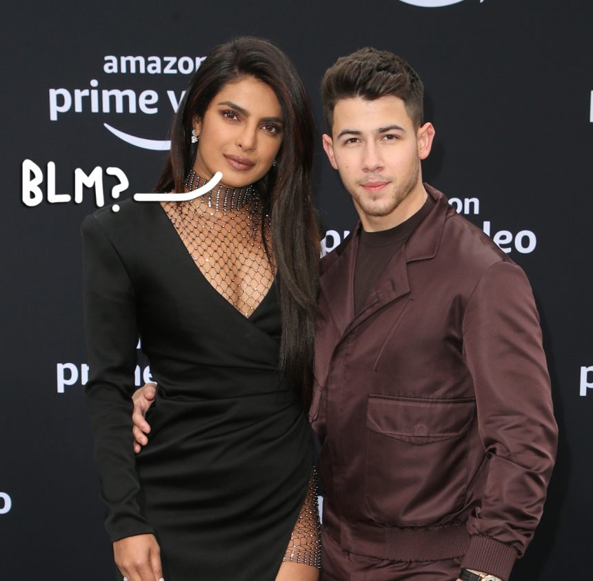 Twitter BLASTS Priyanka Chopra & Nick Jonas' Hypocritical BLM Statement, Calling The Actress A 'Fascist, Racist, Warmongering Bigot'