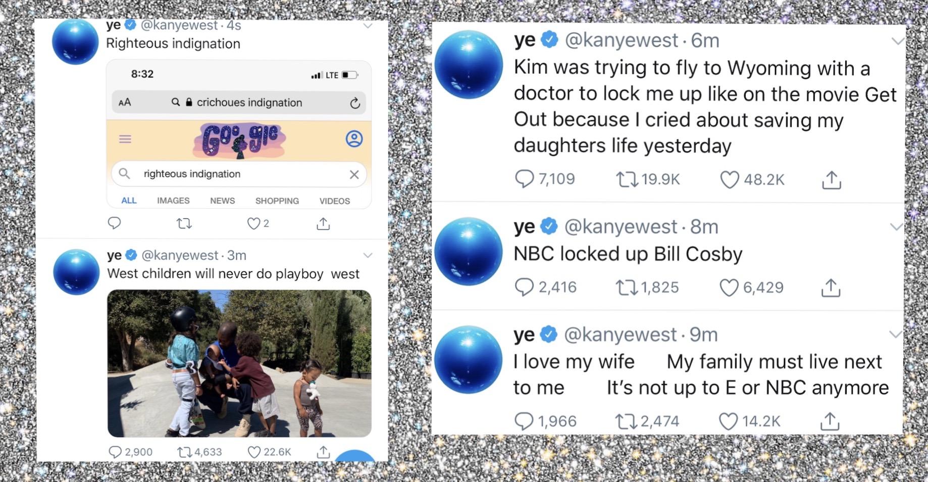 Kanye West twitter breakdown 4