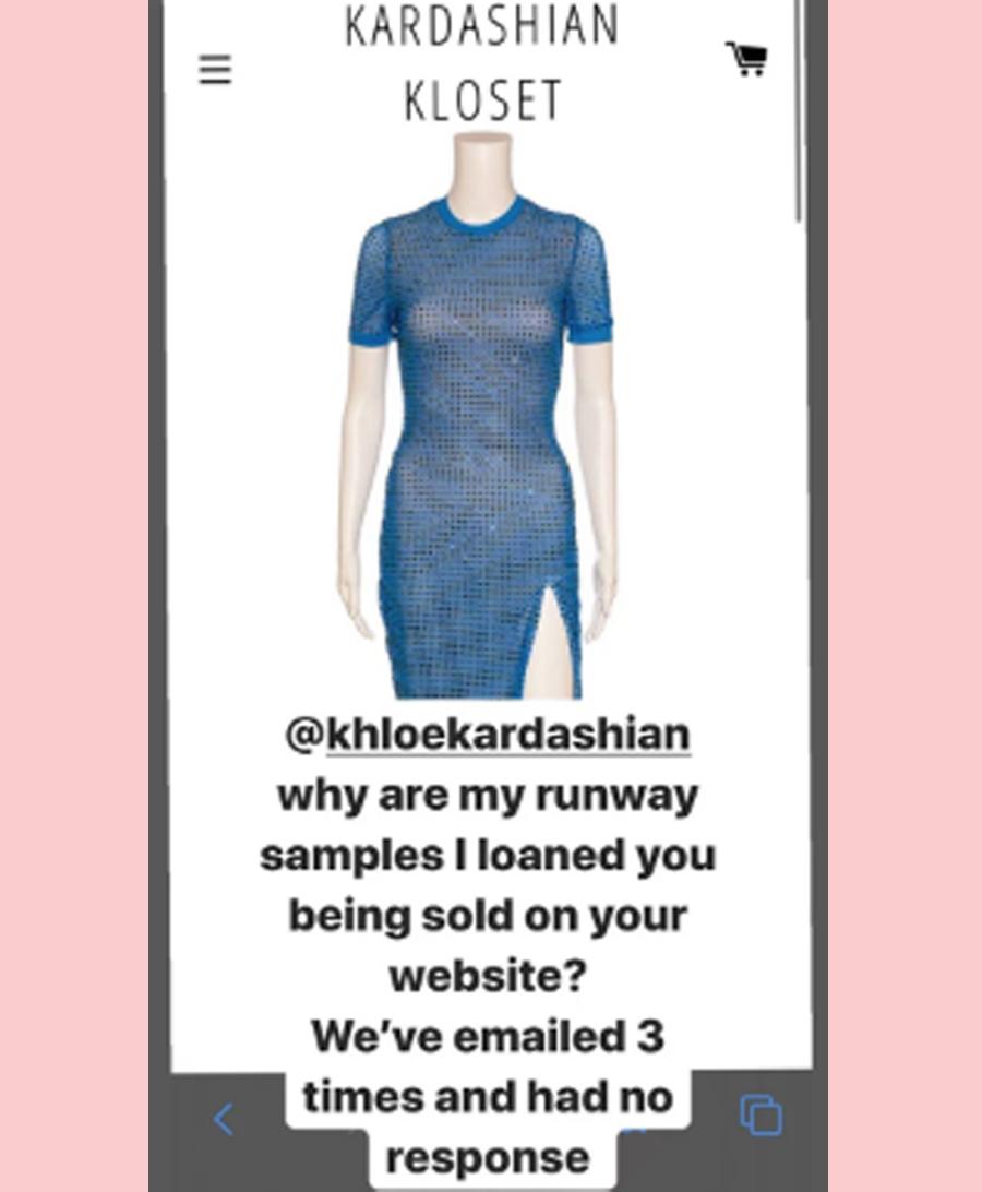 designer christian cowan calls out khloe kardashian on instagram