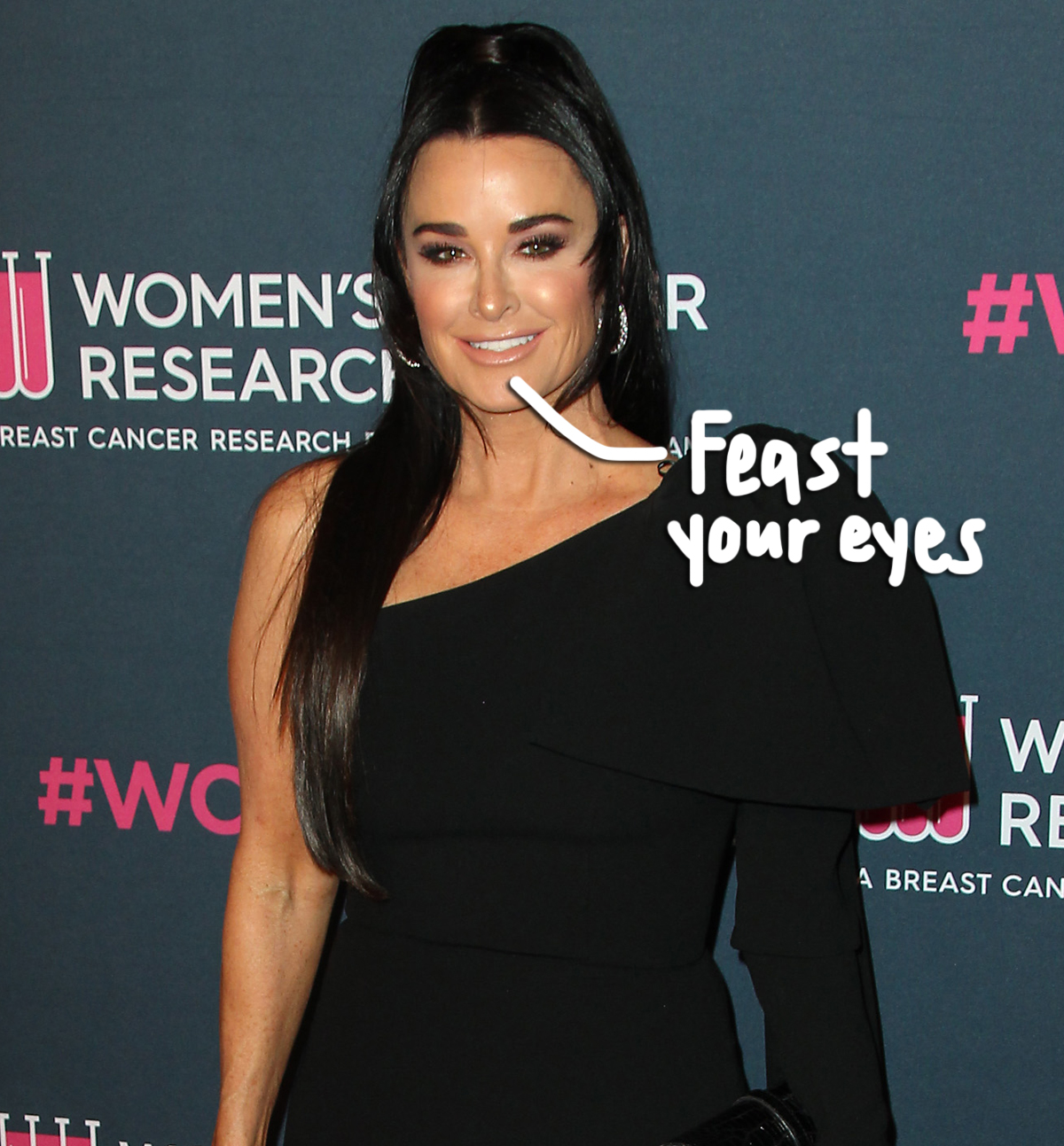 Kyle Richards Posts Demi Moore Inspired Nude Photo