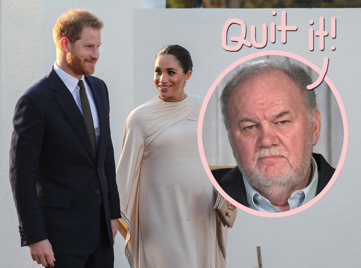 meghan markle s father says she prince harry should stop whining and complaining what perez hilton meghan markle s father says she prince harry should stop whining and complaining what perez hilton