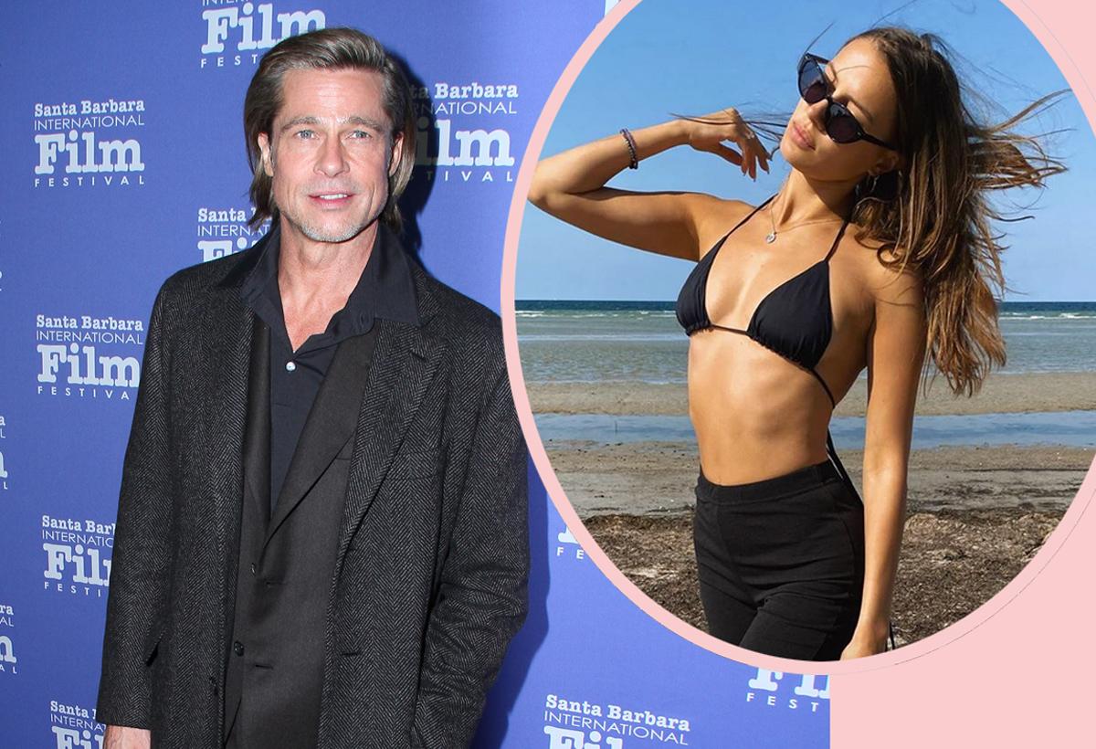 Brad Pitt Has A New Lady Perez Hilton