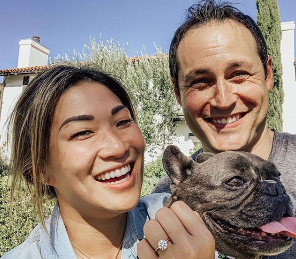 Jenna Ushkowitz is engaged to David Stanley