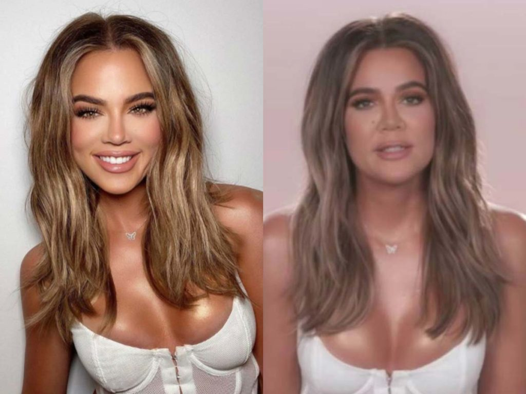 Khloé Kardashian sparks controversy after KUWTK video footage suggests she heavily edited her photos.