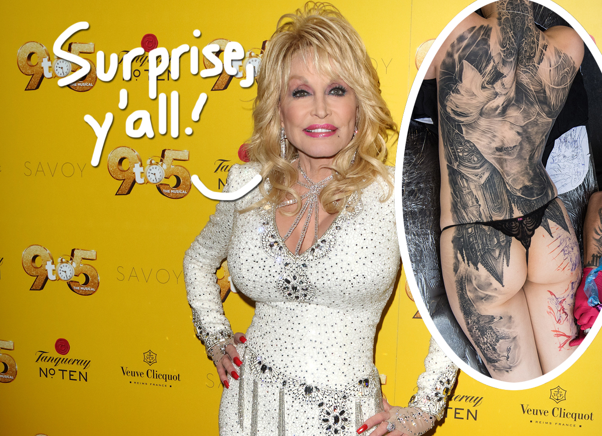 Rumors CONFIRMED! Dolly Parton Reveals She Really Does Have A Bunch Of Secret Tattoos!