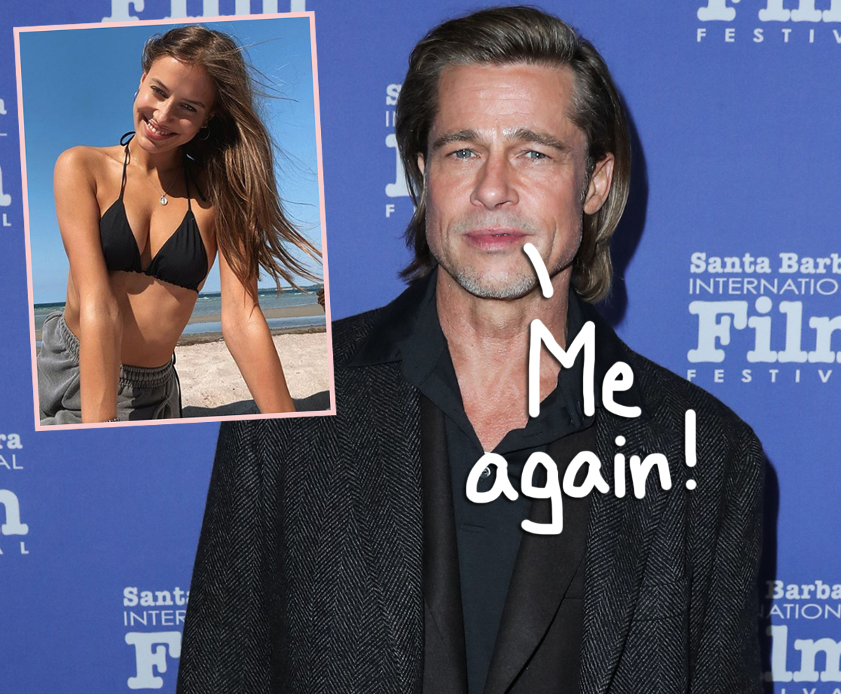 Brad Pitt's girlfriend has a husband and approves of the relationship